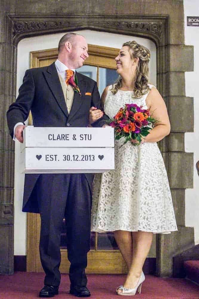 Clare Stu Castle Hotel Taunton Wedding