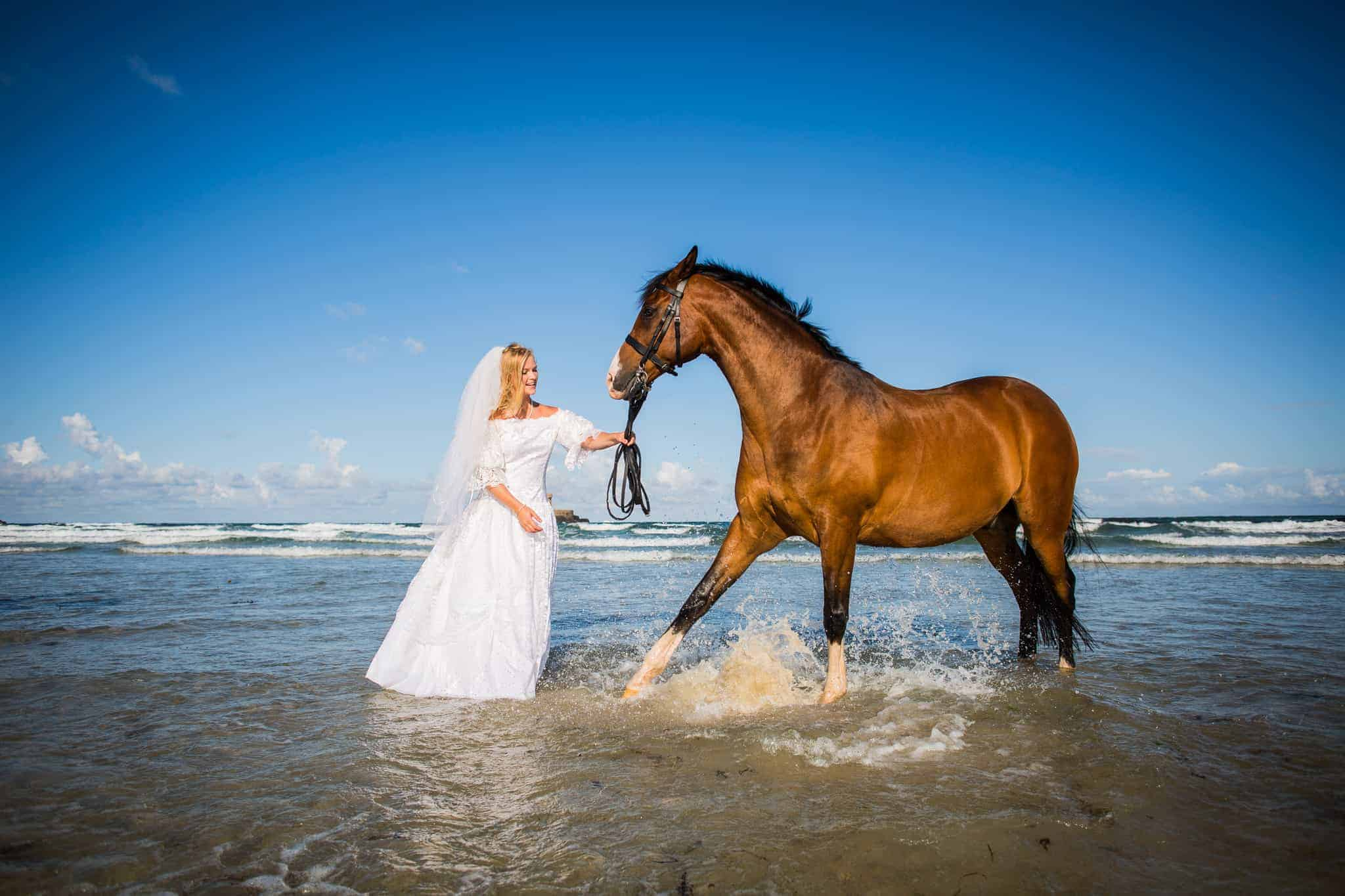 Trash the dress - Jersey - Katie Mortimore Photography