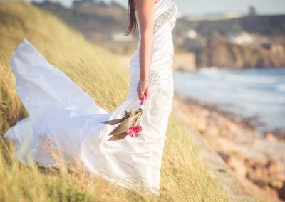 wedding cherish the dress trash sea jersey st ouens