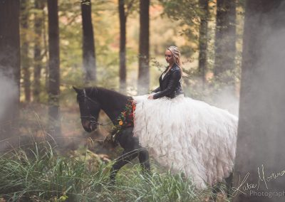 cherish the wedding dress equine horse