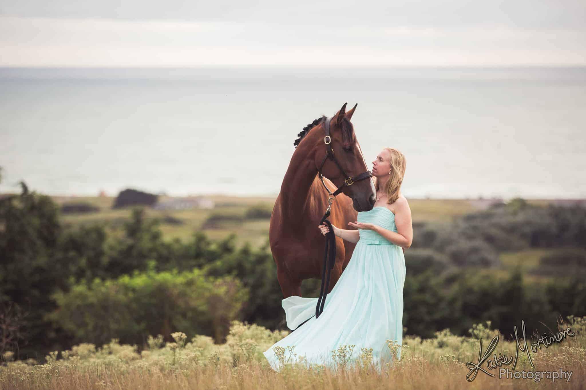 horse & women owner portrait hampshire wiltshire