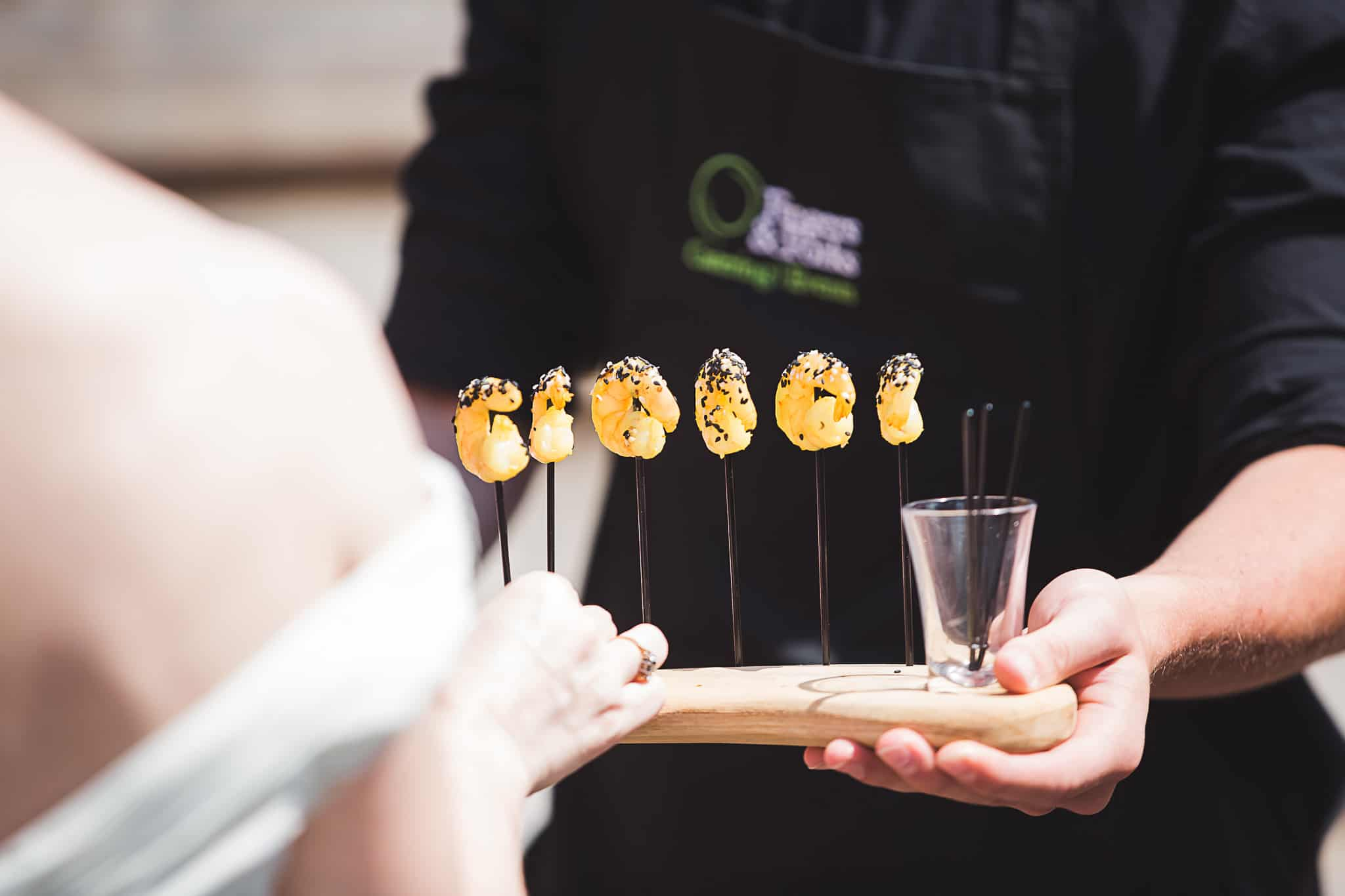 Fison Barn Wedding caterer Earth Trust wittenham clumps