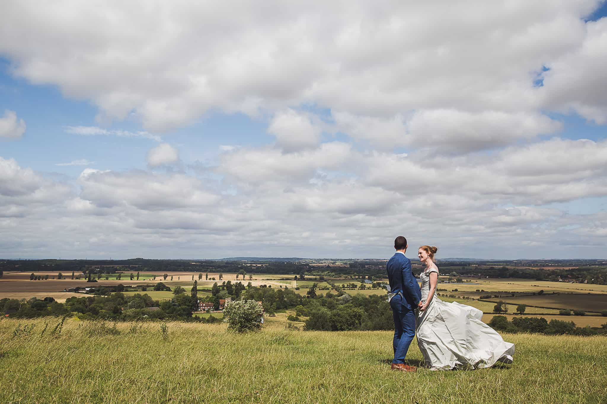 Fison Barn Wedding Earth Trust wittenham clumps