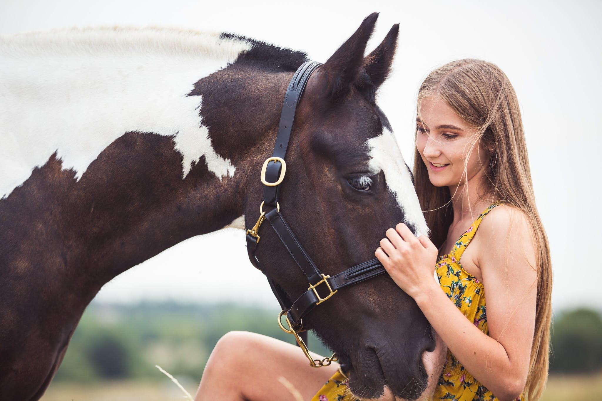 horse & girl portrait hampshire wiltshire
