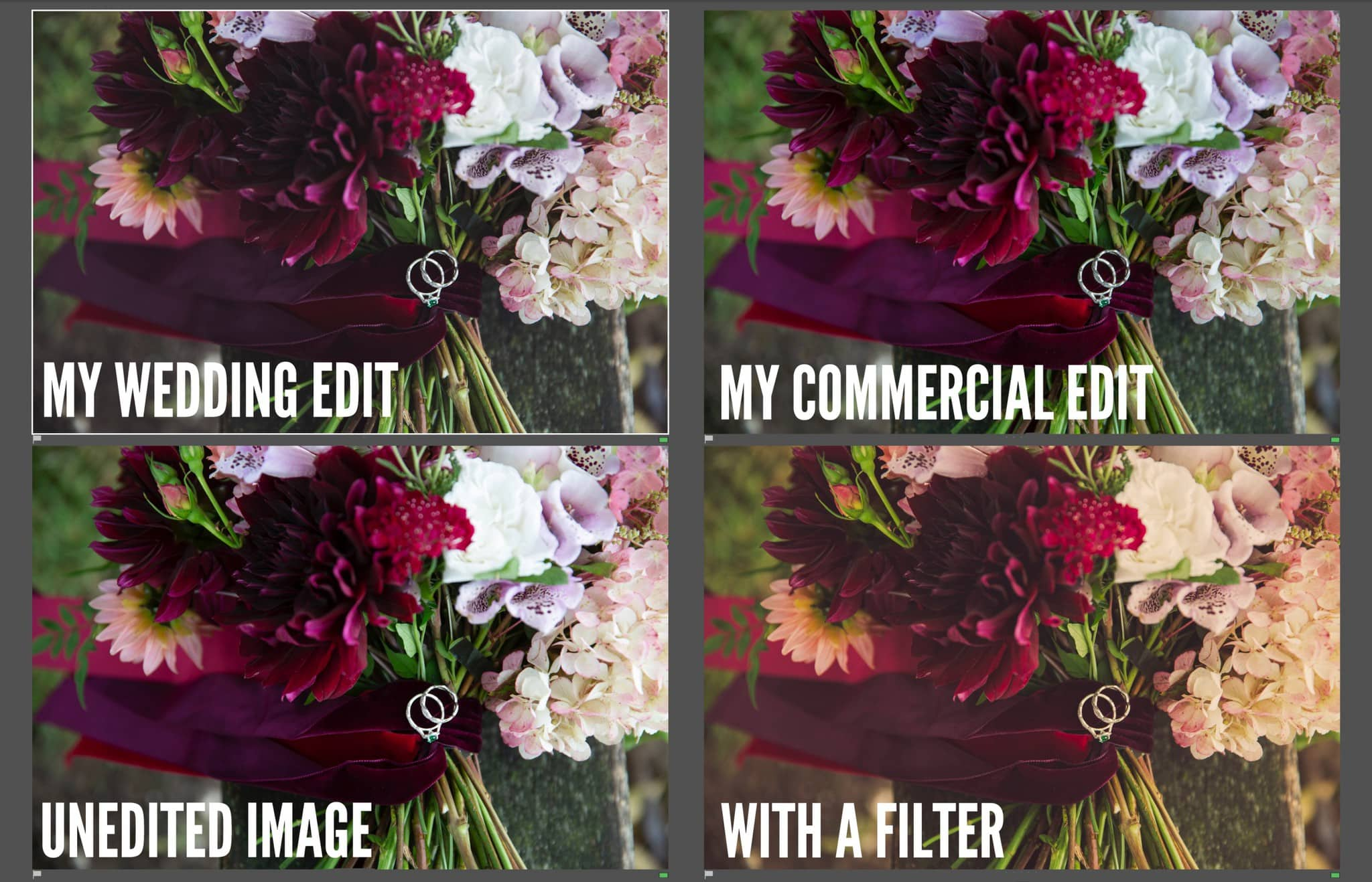 correct colour filters commercial product photographraphy