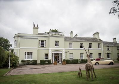 Deer Park county house wedding devon