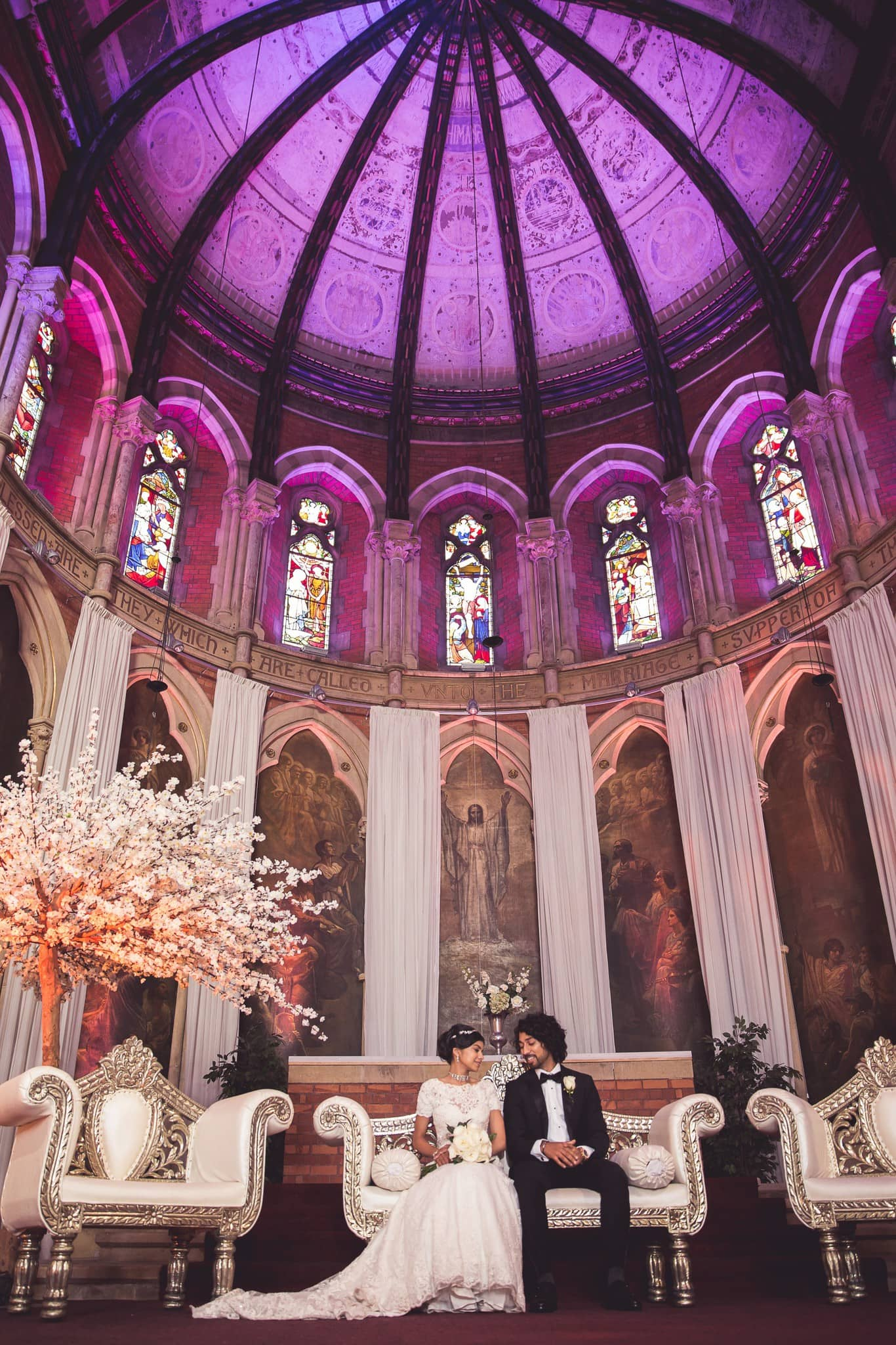 city chic wedding
