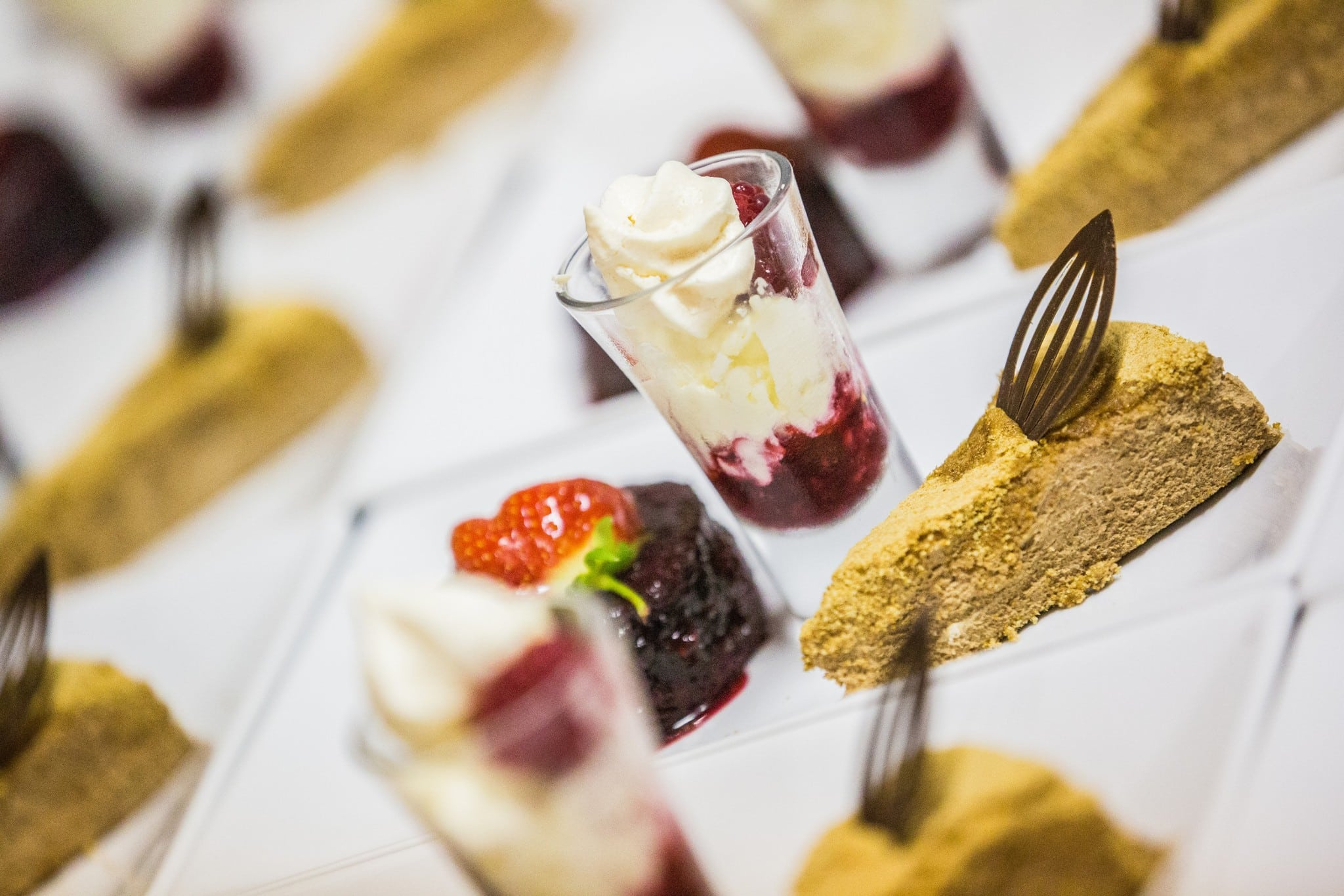 wedding caterer dessert wet dry hire